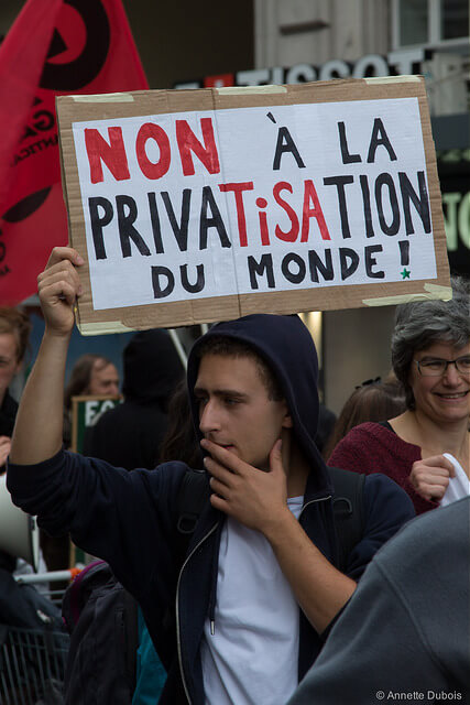 Human rights and privatisation of education and public services