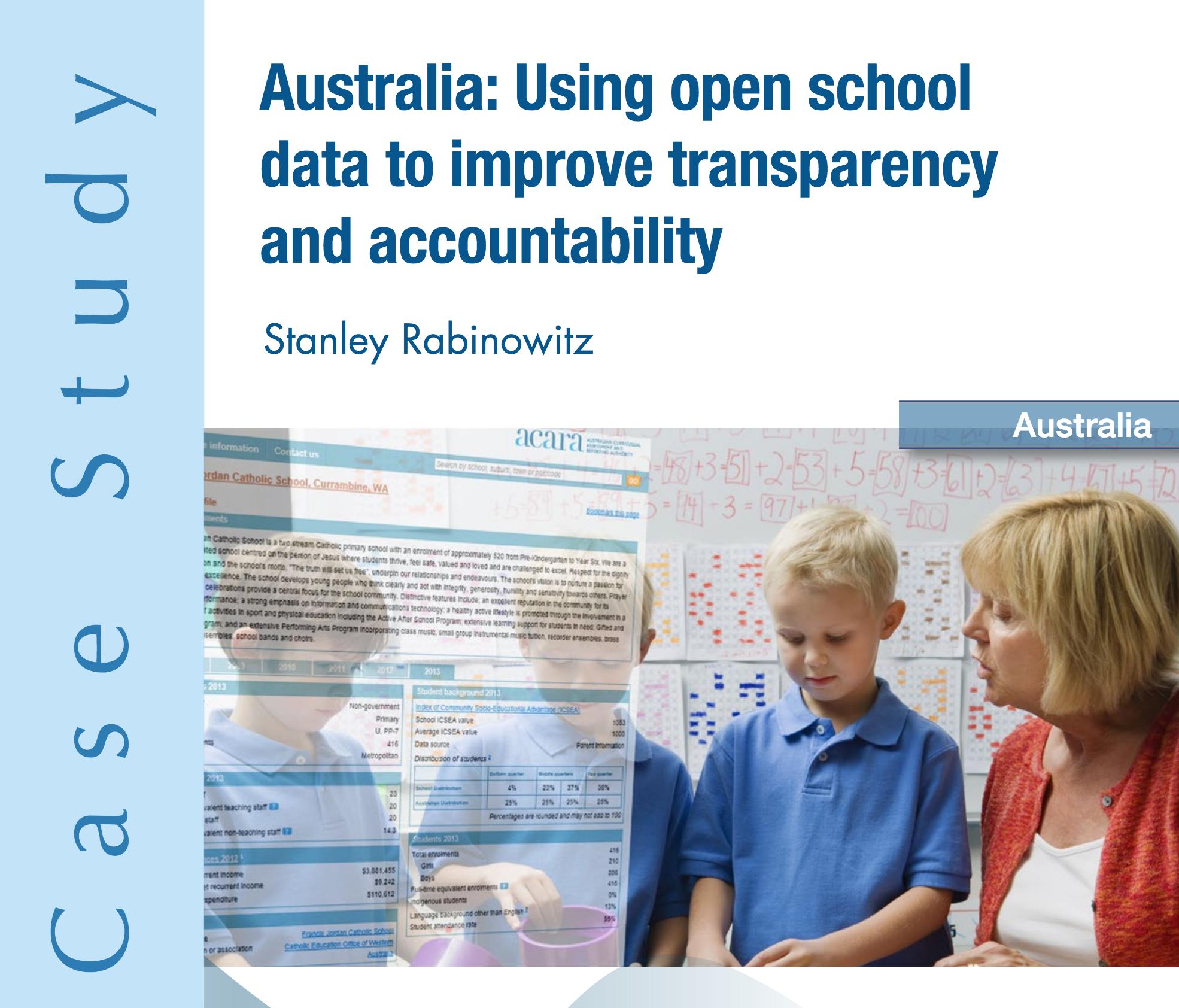 Case Study Snackbrands Australia: Promoting Accountability Through Open School Data