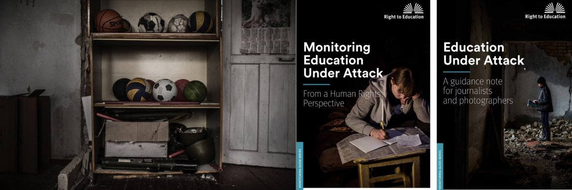 Education under attack - Monitoring Guides covers