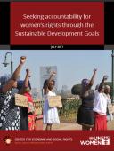 SDGs, Sustainable Development Goals, Women's rights, gender