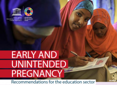 UNESCO Early unintended pregnancy recommendations for education
