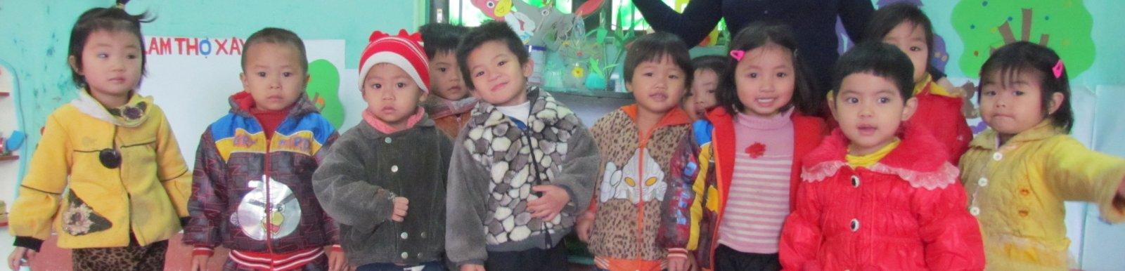 Kindergarten in Northwest Vietnam