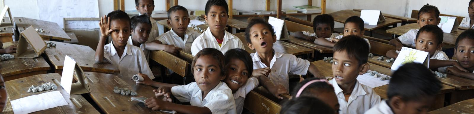 Primary School in Dili, Timor-Leste