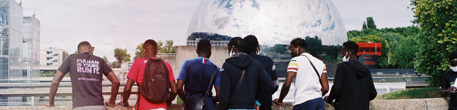 Unaccompanied minors in Paris - 2020