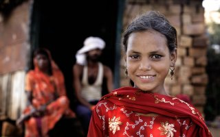 Ramrati, 12 years from Sangwara village in Madhya Pradesh, India. She is a student of class six in Government Middle School