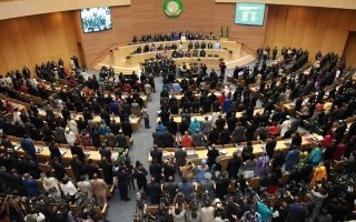 Opening ceremony of the Twentieth (20th) Ordinary session of the Assembly of the African Union, January 2013, Addis Ababa, Ethiopia