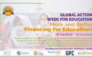 Global Action Week flyer