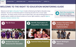 event presentation of the right to education project new online