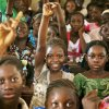 Students attend class at a public school in Taliko, a neighbourhood of Bamako